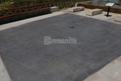 Bomanite Alloy with Bomanite Color Hardeners was installed here to create a stunning decorative concrete hardscape with beautiful custom engraving that perfectly highlights the distinctive possibilities and beauty of quality decorative concrete.