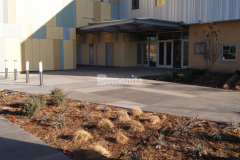 The 2019 Honorable Mention Award for Best Bomanite Exposed Aggregate Project Over 6,000 SF was awarded to our associate Bomanite of Tulsa for their skillful installation of approximately 15,000 SF of Sandscape Texture Exposed Aggregate at the newly built facility at the Tulsa County Family Center for Juvenile Justice, providing an artistic entrance and walkways and creating an inviting exterior space.