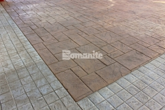 Four different Bomacron patterns, including Canyon Stone, Medium Ashlar Slate, Random Boardwalk, and Granite Setts were incorporated into the installation of over 145,000 SF of architectural concrete by our colleague Texas Bomanite, who utilized multiple colors of Integral Color, Color Hardener, and Release Agents to add unique detail and character to the Texas themed look at the Tanger Outlets Fort Worth.